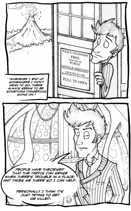 Worst of the Timelords comic